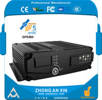 4 Channel GPS Real Time Full HD 720P AHD Dual SD Card Vehicle Mini Mobile DVR