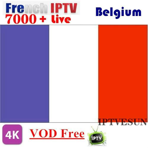 IPTV francês Bélgica SUNATV Holandês Árabe IPTV IPTV enigma2 IPTV Apoio Android m3u atualizado para 7000 + Vivo e Vod suportados.