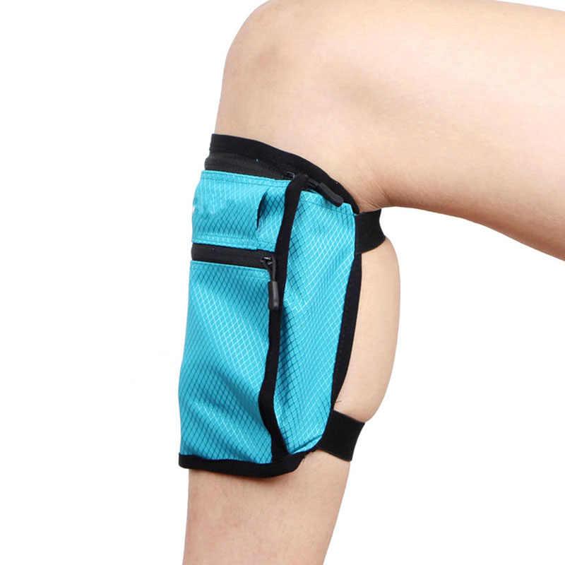 Nuevo bolso de viaje con correa para la pierna, bolso para teléfono, bolsa para dinero, caja para pasaporte