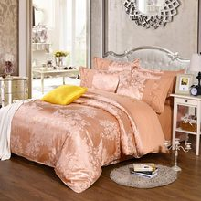 european american palace jacquard bedding set girlfull queen king floral vintage home textile bed