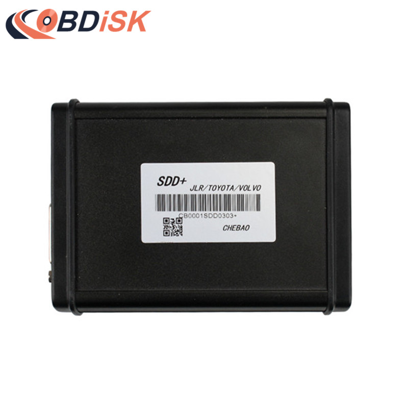 New Arrival SDD+ for TOYOTA / VOLVO / JLR SDD Diagnostic/Programming/Matching Key Multi Function Tool hot new xtuner e3 easydiag wireless obdii full diagnostic tool with special function pefect replacement for vpecker easydiag