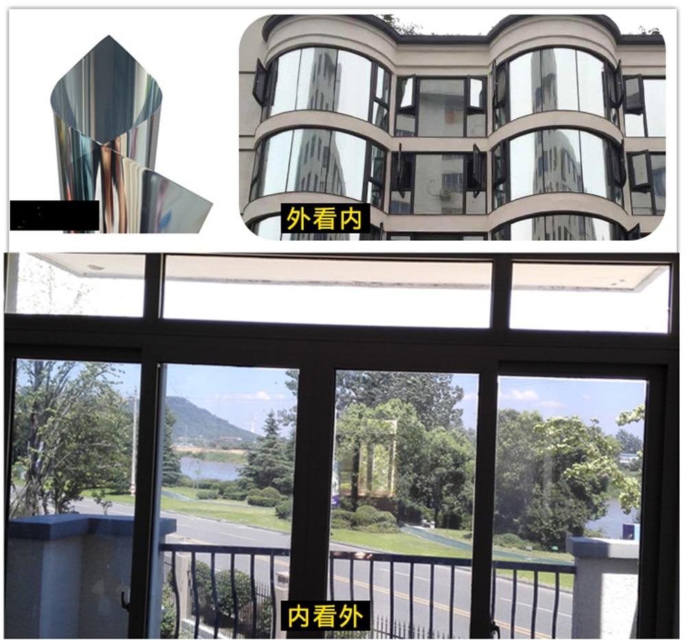 Tinted balcony mirror film 35