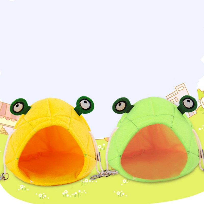 Hamster Hammock Frog Cute design Small Animals Cotton Cage Sleeping Nest font b Pet b font