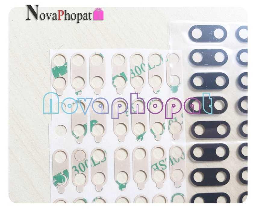 Novaphopat Nero Nuovo indietro posteriore big obiettivo di vetro della fotocamera per Xiao mi mi A1 5X/mi 5X mi A1 obiettivo di macchina fotografica con adesivo + tracking