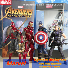 Hasbro Avengers 4 Movie characters Iron Man Spider-Man Captain America Scarlet Witch Model toys