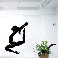 Gymnast Wall Decals Sport Girl Gymnastics Dance Studio Decal Home Design Interior Art Vinyl Sticker Baby