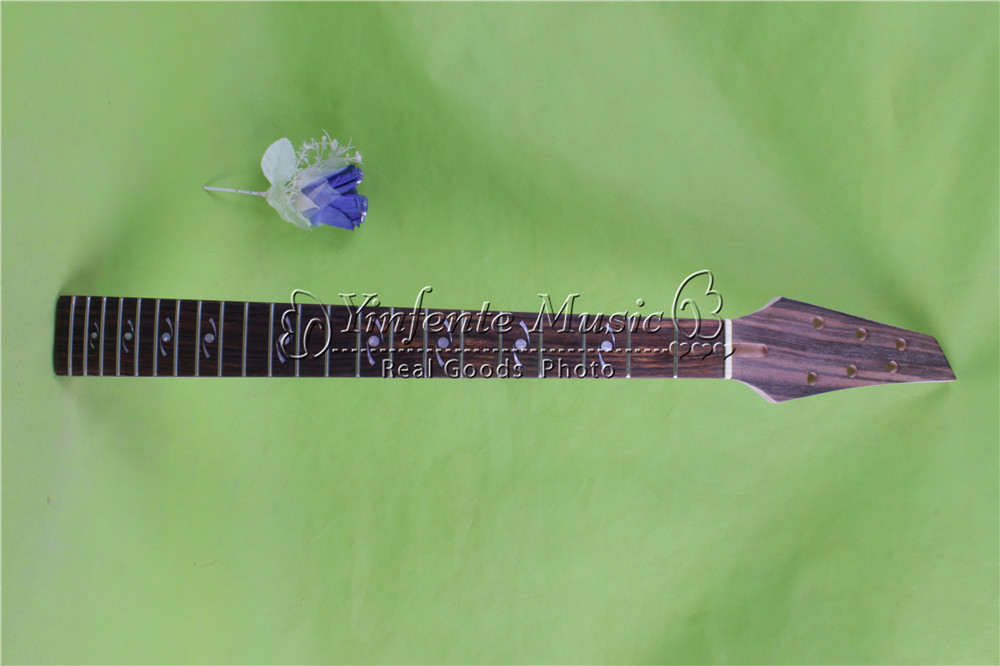 x-00154 # black color 25.5 Electric guitar neck fine quality rosewoood fingerboard 22 fret флюгер малый duckdog мф 00154