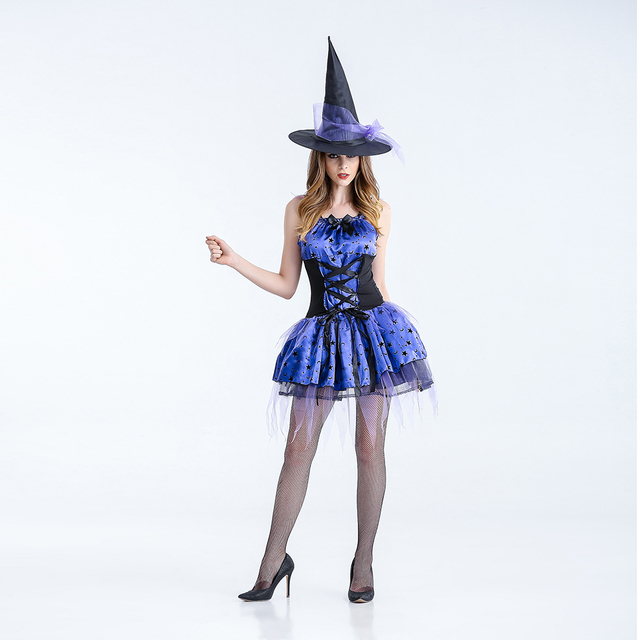 VASHEJIANG Adult Gothic Witch Costume Sexy Womens Magic Moment Costume Adult Flying witch Cosplay costumes Halloween & VASHEJIANG Adult Gothic Witch Costume Sexy Womens Magic Moment ...