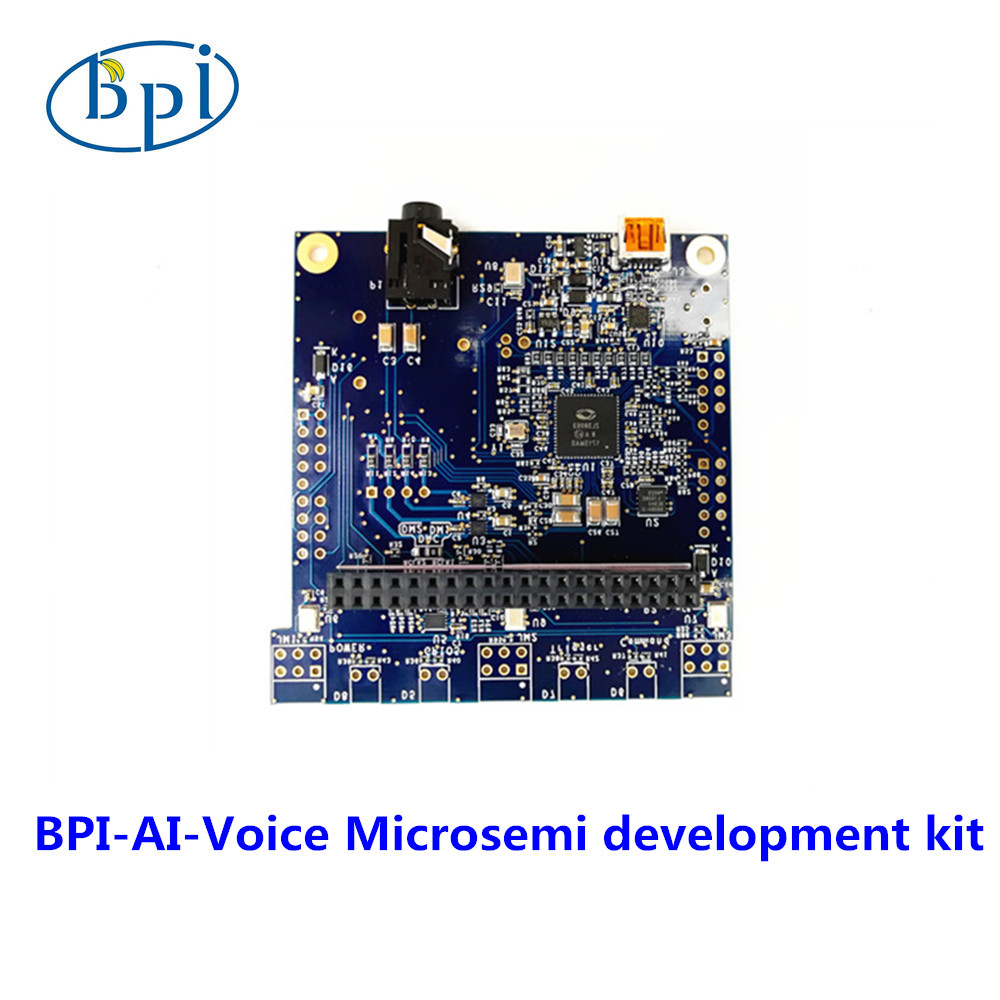 Модуль Banana Pi BPI AI Voice (Microsemi) для распознавания речи