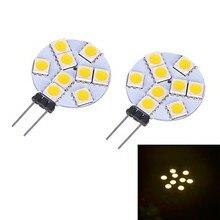 Фотография HRSOD 4 X Bi-pin Lights , G4 W 9 SMD 5050 LM Warm White/Cool White  Corn Bulb (DC 12 V )