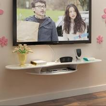 лучшая цена Simple TV set-top box rack wall wall hanging router rack room background wall decoration rack free of punch.