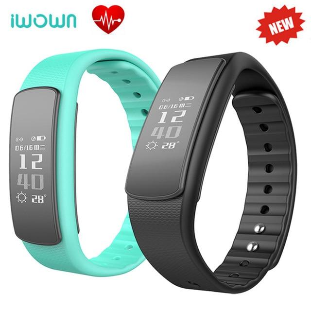2017 IWOWN i6 HR IP67 Waterproof Smart Bracelet Heart Rate Monitor Wristband Fitness Tracker Sport Smartband PK xiaomi mi band 2