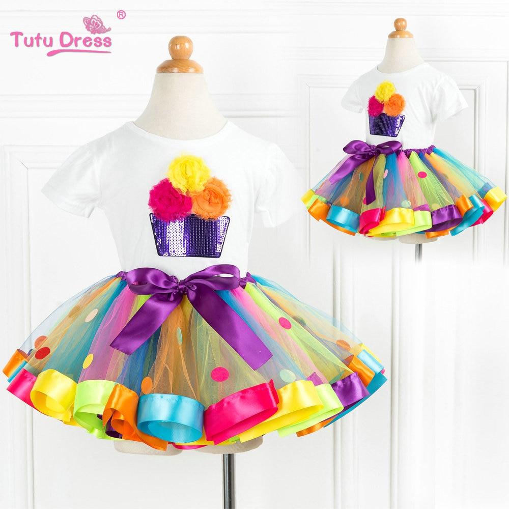 2018 nieuwe komen zomer meisjes kleding sets cartoon bloem t-shirts + - Kinderkleding - Foto 2
