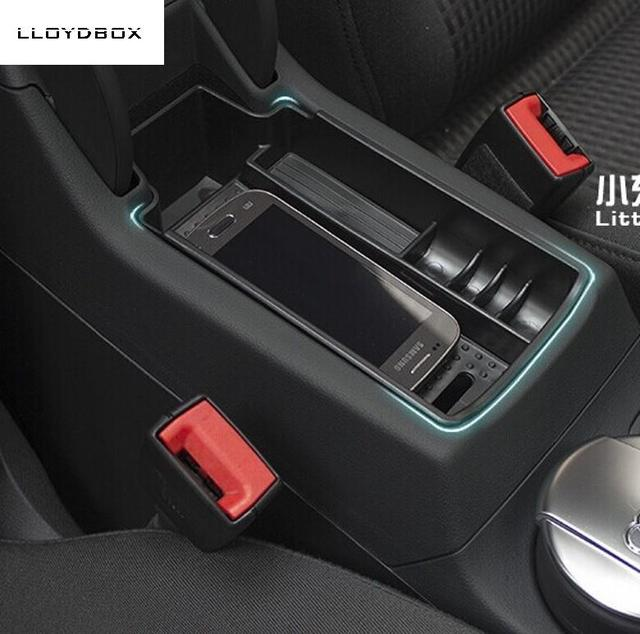 Автомобиль организатора для q3 audi центральный подлокотник ящик для хранения, автомобилей укладка уборка аксессуары, q3 стайлинга автомобилей