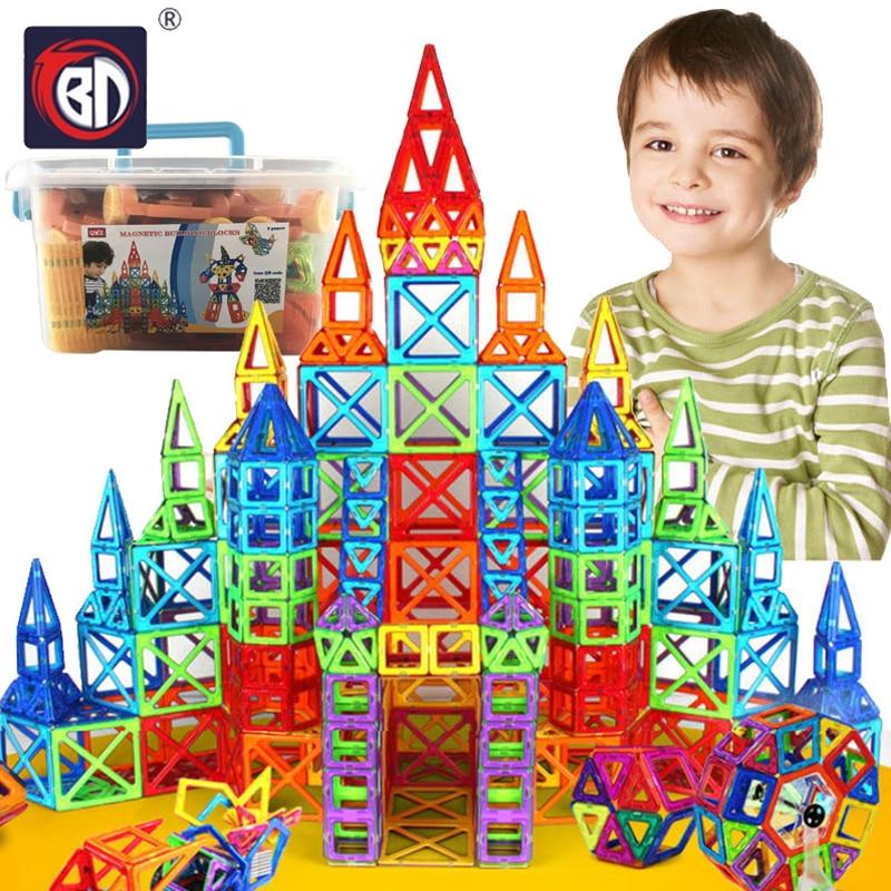 BD 215pcs Magnetic Designer Building Blocks Toys Magnetic Tiles Block Toy For Kids Educational Construction Stacking For Toddler