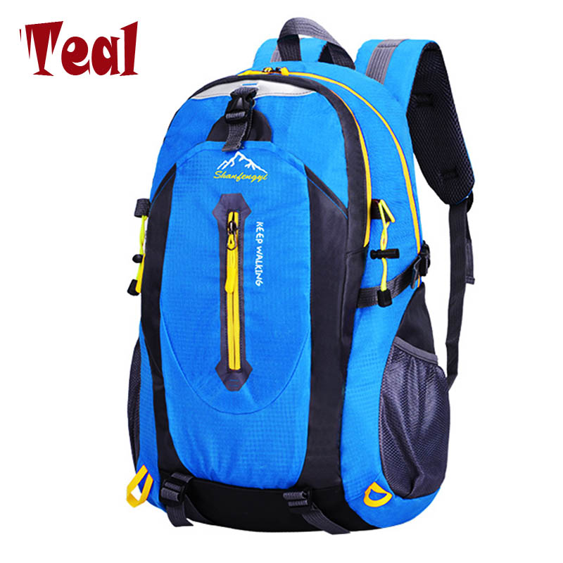 Hot Women and men Fashion Backpacks Oxford Waterproof With Ears Bags Sack Backpack Travel Mountaineering Rucksack trekking bag 75l external frame support outdoor backpack mountaineering bag backpack men and women travel backpack a4809