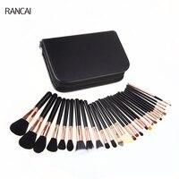 Professionelle 29 stücke Luxus Make-Up Pinsel Komplette Kit Extravganza Kupfer Kit Sammlung pinceis maquiagem