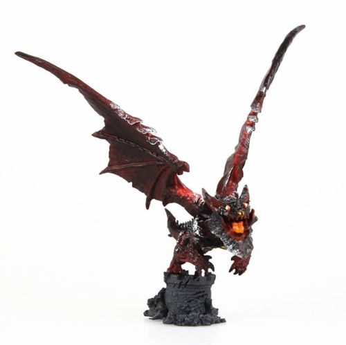 WOW World Of Cataclysm Deathwing Toy Figure Figurine Doll wow wow самосвал якс