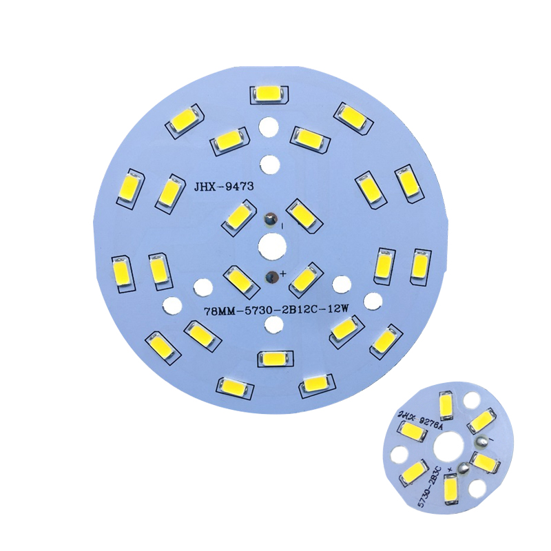 5pcs/lot 3W 5W 7W 9W 12W 18W 24W 5730 Brightness SMD Light Board Led Lamp Panel For Ceiling PCB With LED