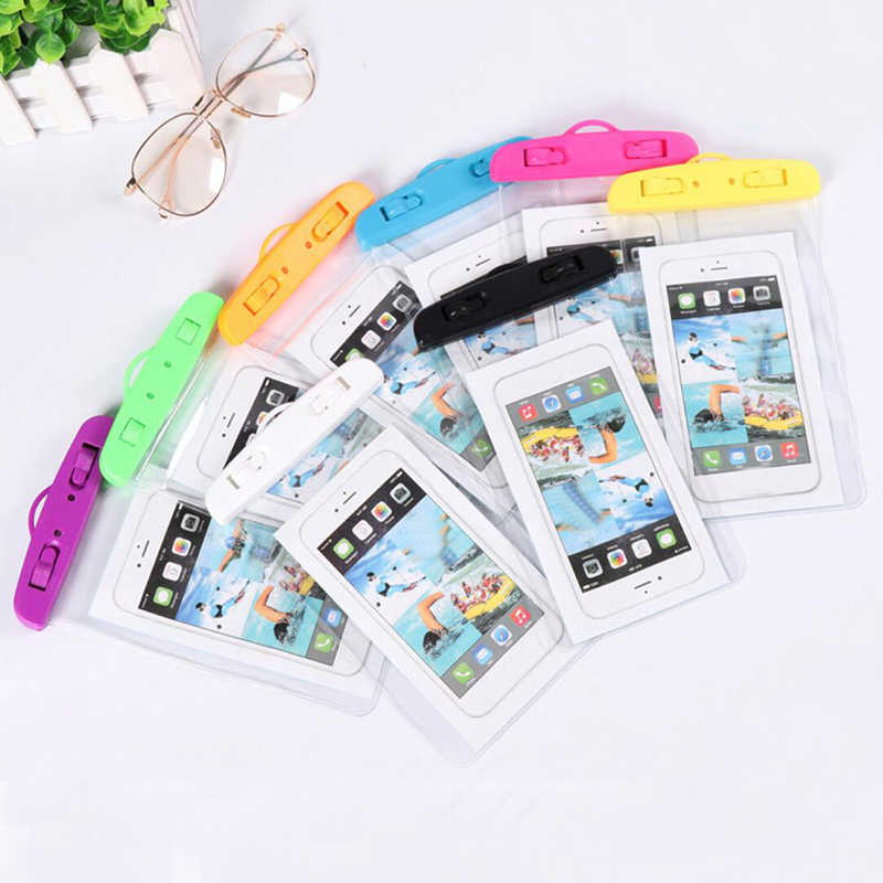 eTya Travel Phone Waterproof Bag Men Women Wallet Summer Beach Swimming Coin Card Phone Pouch Case Cover Travel Accessories