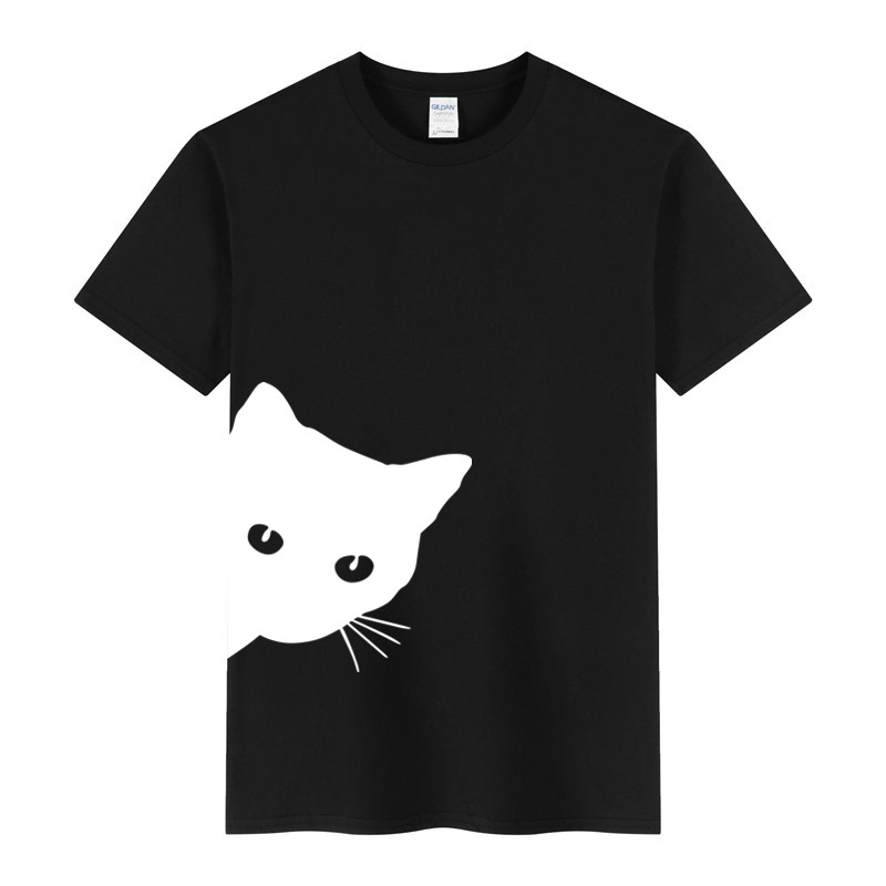 2019 New Arrivals Casual Male   T  -  shirts   Man Funny Cat 3d print Men   T     Shirts   Fashion Custom Graphic Tees Japanese Man   T  -  shirt