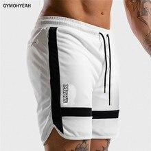 Nova aptidão sweatpants shorts homem verão ginásios treino masculino malha respirável secagem rápida roupas esportivas jogger praia marca calças curtasShorts