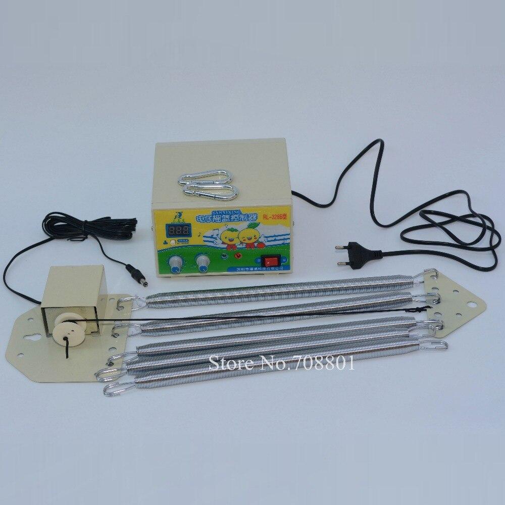 Nouveau 328B EU Plug électrique bébé lit balançoire contrôleur, berceau électrique contrôle Rocker, lit électrique mignon Mammy nounou pilote