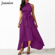 Black Red Spring Plus Size Halter Maxi Dress Female Sexy Sleeveless Partywear Womens Bow Peplum Hem Fitting Dresses Femme 5XL