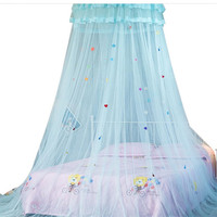 Girls Room Decor In A Cot Sky Of Bed Canopy Bed Curtain Tent For Adults Lace Dome Baby Canopies Round Hanging Mosquito Net