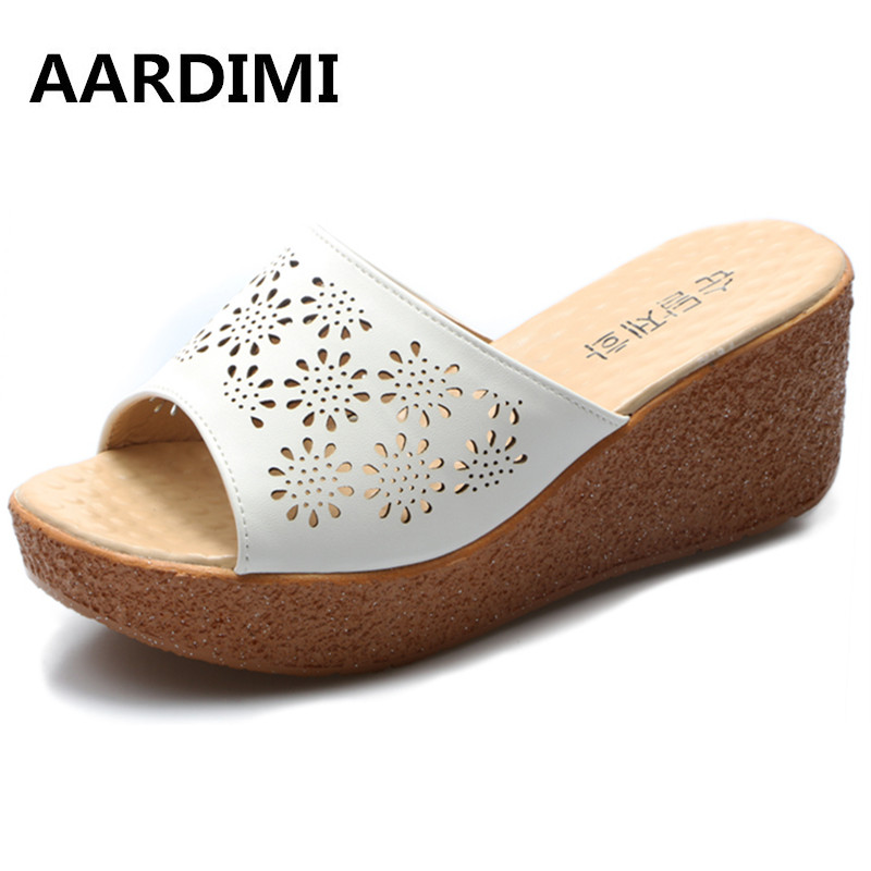 Hot Sell 11 kinds summer platform sandals women shoes casual wedges height increasing slippers women flip flops sandalias mujer women sandals 2017 summer style shoes woman wedges height increasing smile fashion gladiator platform female ladies shoes casual