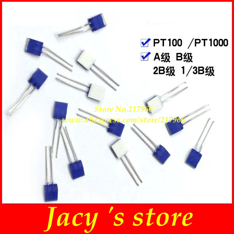 PT100 Temperature Sensor, Platinum Resistance PT1000, Temperature Range - 70~500 Degrees A B 2B Class