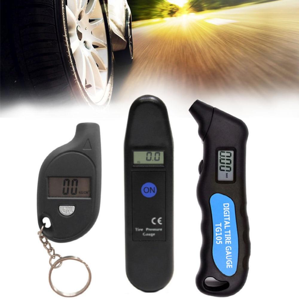 Digital Car Tire TG105 Digital Tire Pressure Gauge Meter Manometer Barometers Tester Digital LCD Tyre Air For Auto Car Tools