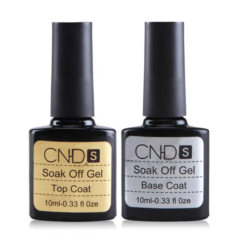 Best Quality Top Coat and Base Coat 10ML Long lasting Soak Off Varnish Manicure Nail Gel