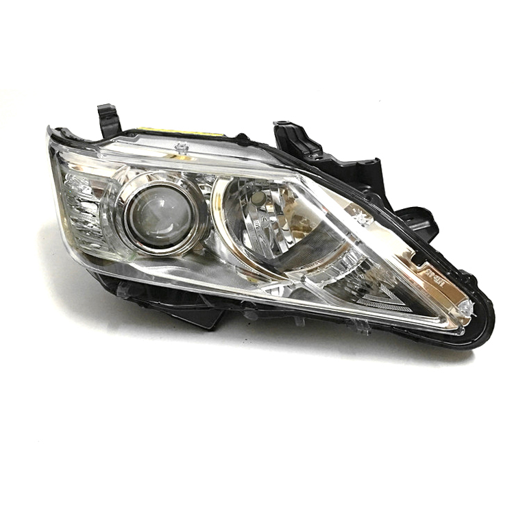 Brand New Original Replacement HID Bi-Xenon Projector Headlights For Toyota Camry 2012-2014 brand new original replacement chorme housing halogen headlights for toyota camry 2007 2009