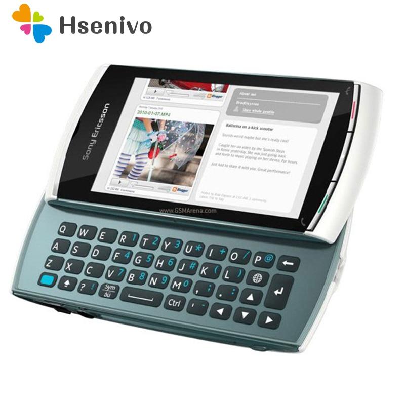 U8i 100% Original Unlocked Sony Ericsson Vivaz Pro U8 U8i Mobile Phone 3.2' 3G FM Radio 5.0MP Unlocked Cell Phone Free Shipping