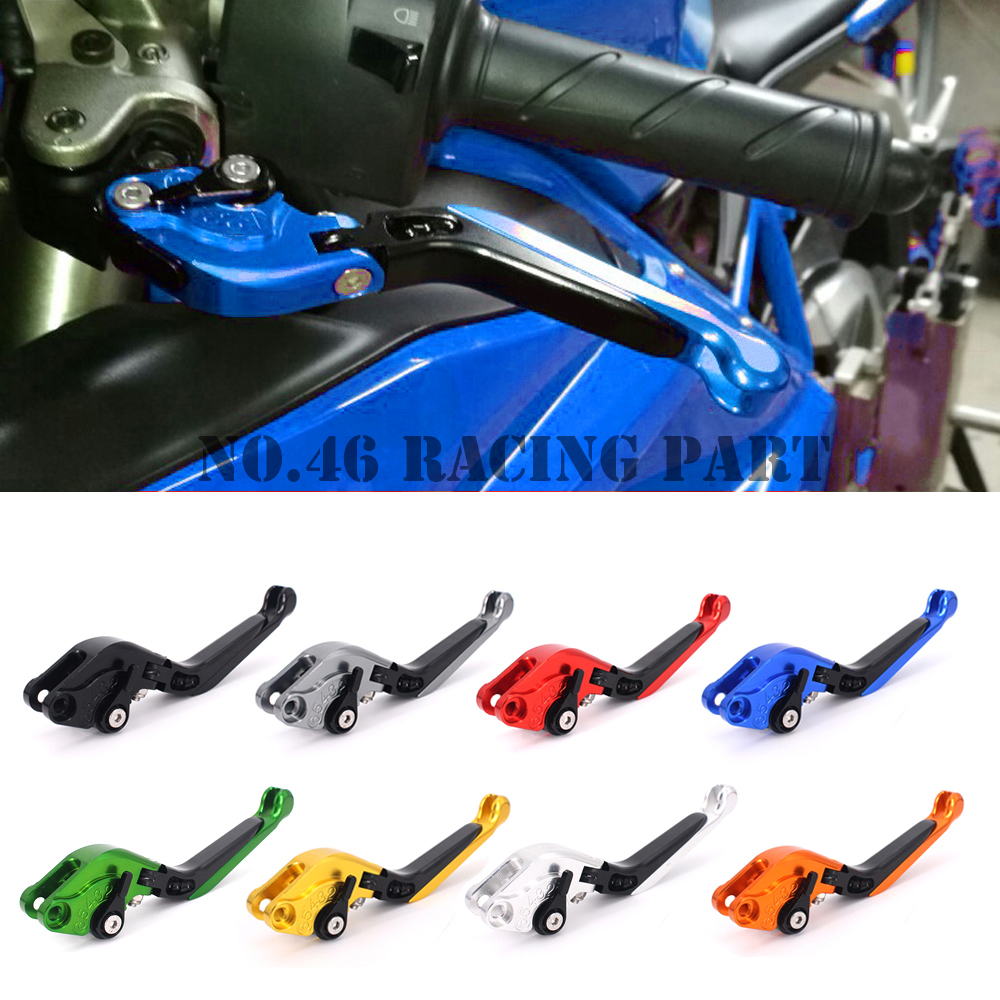 CNC Motorcycle Accessories Brakes Clutch Levers For SUZUKI DL 1000 DL1000 /V-STROM 2002-2017 Bandit 650S 2015 Free shipping 10 colors for suzuki dl1000 v strom gsf650 bandit gsx650f 650s cnc long and short brake clutch levers motorcycle shortly lever