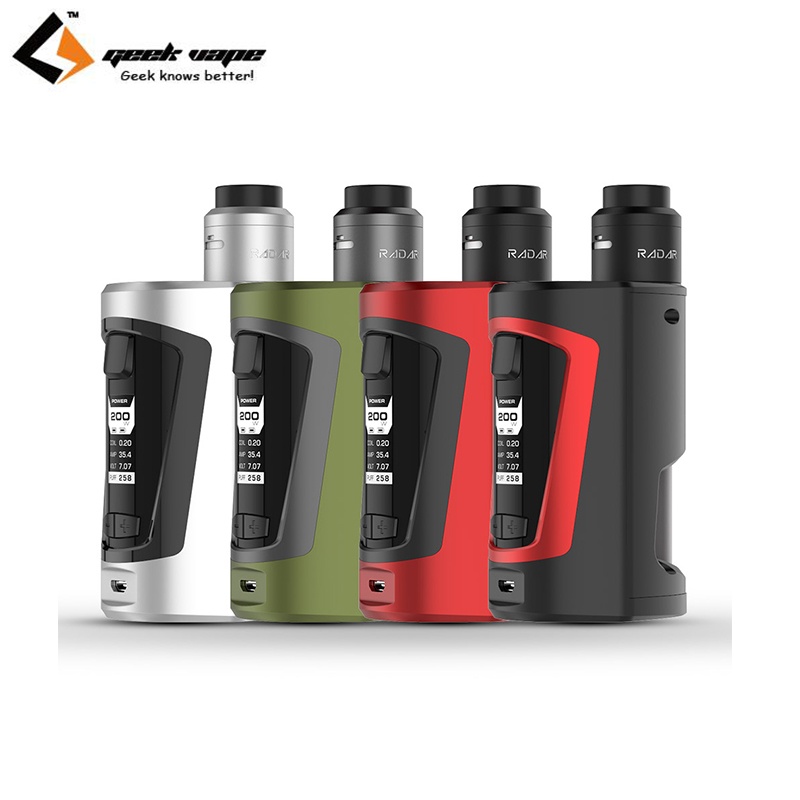 Original Geekvape GBOX Kit 200W GBOX Squonker Box Mod Vape with 8ml Squonk Bottle Radar RDA Tank ecigarette 100% original geekvape gbox mod 200w gbox squonker box mod vape fit 8ml squonk bottle support radar rda tank