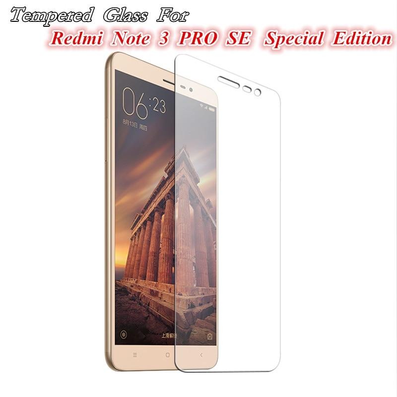 Tempered Glass For Xiaomi Redmi NOTE 3 PRO SE Special Edition Official Global Version Cover 152mm cases Xiaomi mi5 4C Max mi5s