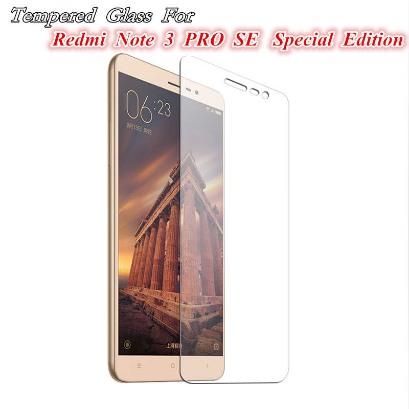 Tempered Glass For Xiaomi Redmi NOTE 3 5 Pro Official Global Version 3S 3X 4 2 mi5 4C 4s Max mi5s cover screen protective 9H on
