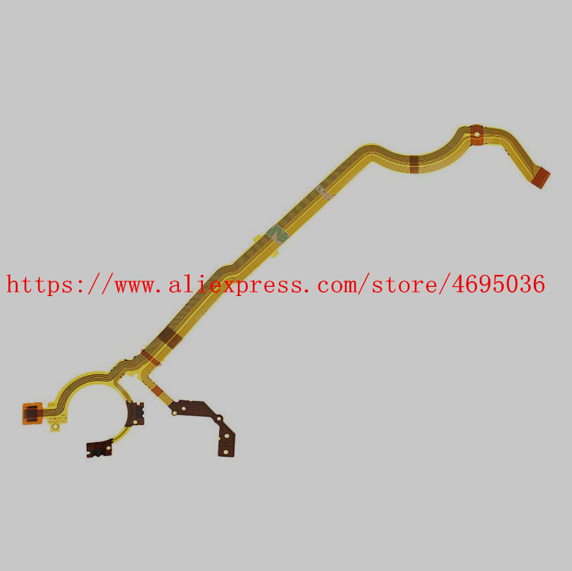 NEW Lens Shutter Aperture Flex Cable For Fuji For Fujifilm XF-1 XF1 Digital Camera Repair Part Without Socket