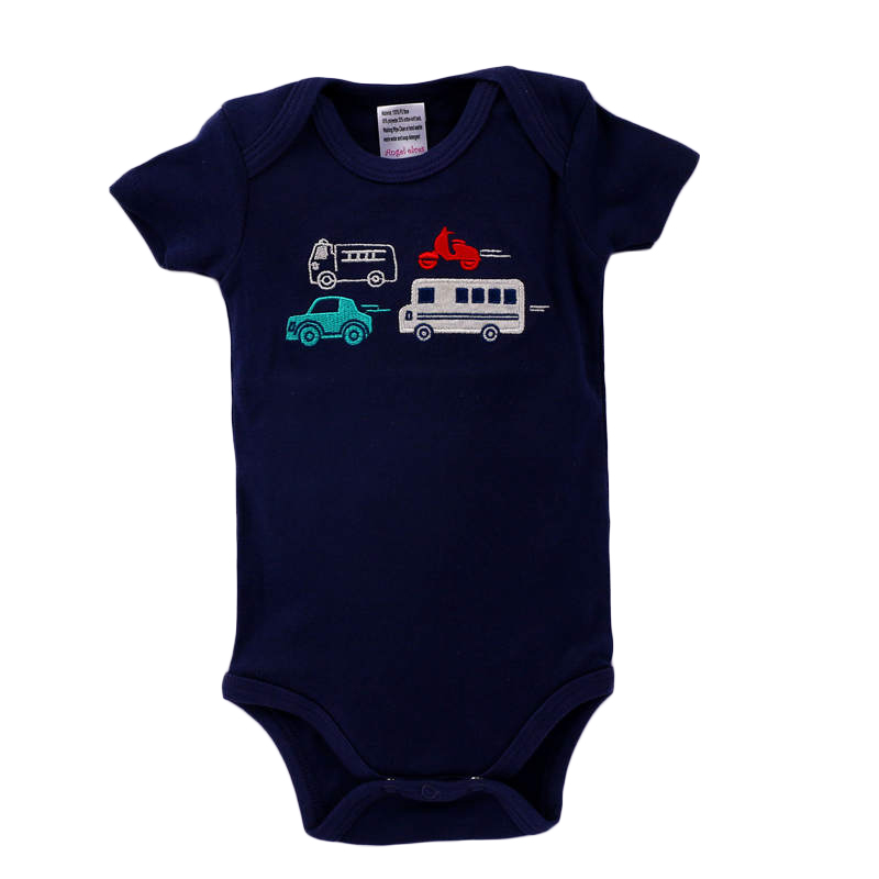 Baby Rompers Short Sleeve Cottom Cartoon Letter Pattern O-Neck Baby Boy Jumpsuit 2018 Newborn Summer Romper Baby Boy Clothes