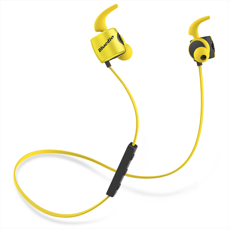 Bluedio TE Sports wireless Bluetooth Earphone with Built-in Microphone Sweat proof in ear Earphone for cell phone colorful style 2