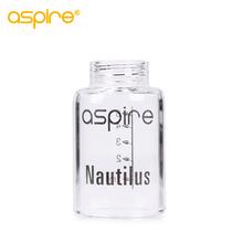 Aspire Nautilus wymiana parownika Pyrex szklana rurka 5 ML pojemność Pyrex zbiornik dla Aspire Nautilus Atomizer tanie tanio Wymiana zbiornika Aspire Nautilus Glass Tube Szkło 100 original Aspire