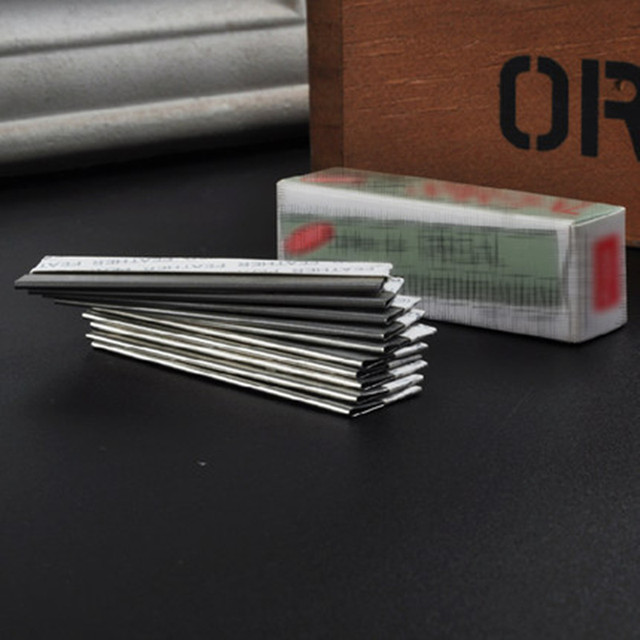 Threading inserts makeup makeup tools dedicated feather scraping blade grain eyebrow embroidery needle slices 3