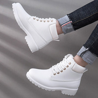 autumn Plush Snow Boots Women Wedges Knee high Slip resistant Boots Thermal Female Cotton padded Shoes Warm Size G2W