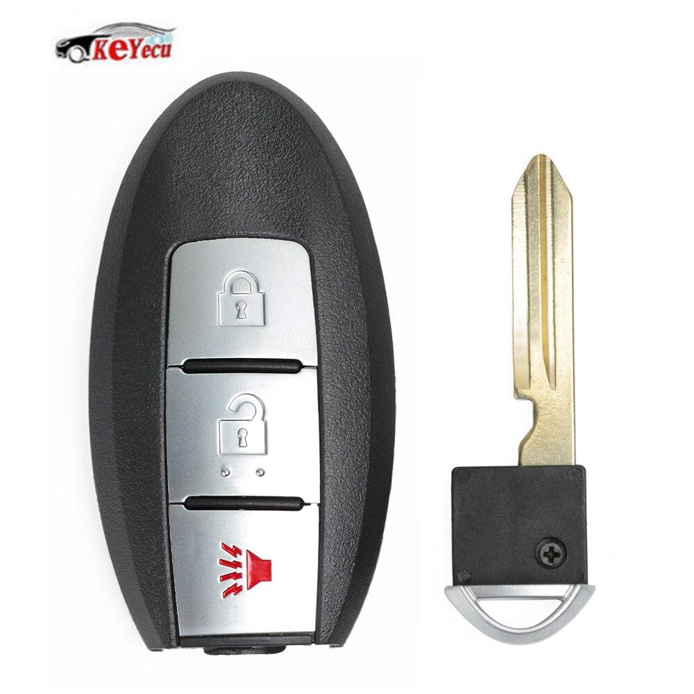 2pcs Smart Remote Key Cover for INFINITI EX35 FX35 FX50 M56 G35 G37 KR55WK48903