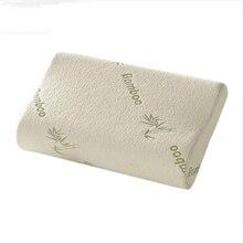 Высококачественная подушка из бамбукового волокна, медленный отскок, подушка из пены с эффектом памяти, забота о здоровье, подушка из пены с эффектом памяти, Массажер A10880