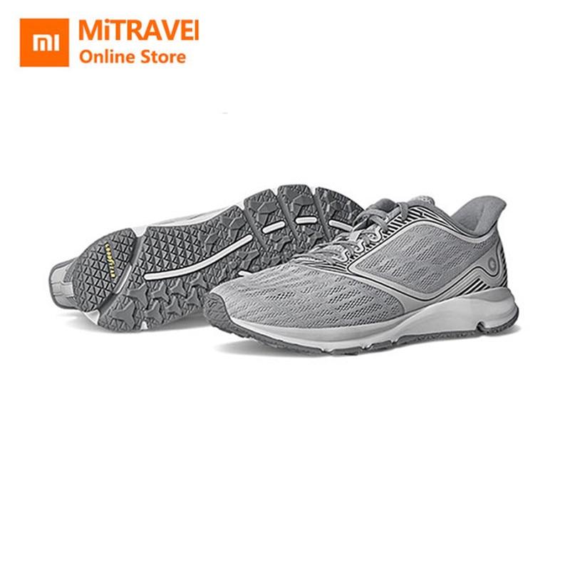 Original Xiaomi Amazfit Antelope chaussures lumineuses sport de plein air baskets caoutchouc absorption des chocs et Ventilation pour adultes