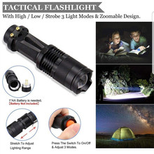 Tactical Survival Gear Kit in Rigid Waterproof Case