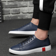 GUDERIAN New Leather Men Shoes Sneakers Fashion Breathable Casual Shoes For Men Comfortable Flat Shoes Men Zapatos Hombre northmarch luxury fashion leather sneakers for men elastic band shoes men breathable casual shoes men footwear zapatos hombre